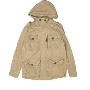 Gap Kids Boys Unisex Hooded Utility Jacket Size M